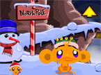 Monkey GO Happy North Pole Walkthrough